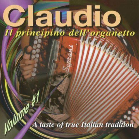 Claudio Volume 1: Il Principino Dell'organetto