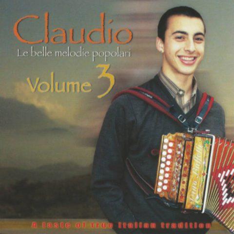 Claudio Volume 3: Le Belle Melodie Popolari